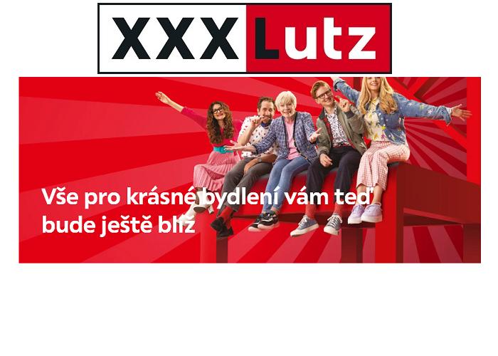 Podoba reklamního vizuálu XXXLutz anoncujícího rozšíření sítě, zdroj: XXXLutz