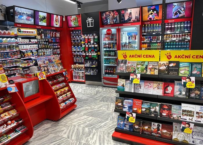 Prodejny Inmedio se nacházejí v kancelářských budovách, obchodních centrech i se vstupem přímo z ulice, zdroj: Lagardère Travel Retail.