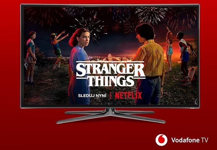 Vodafone uzavírá na českém trhu partnerství s Netflixem, zdroj: Vodafone.