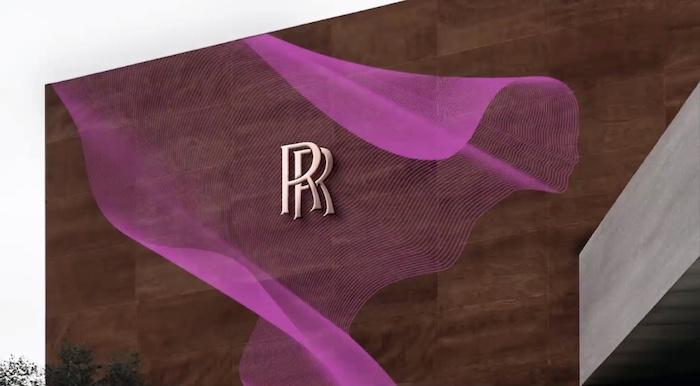 Novým prvkem je speciálně nakódovaný vzorek Spirit of Ecstasy Expression, zdroj: Rolls-Royce.