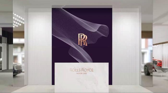U vzorku si značka může hrát s různými barvami, zdroj: Rolls-Royce.