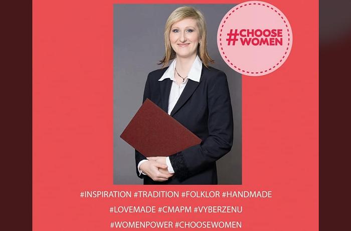 Evženie Galová se takto seznámila s návrhářkou Ivanou Rosovou a plánují spolupráci, zdroj: FB Podnikatelky.eu.