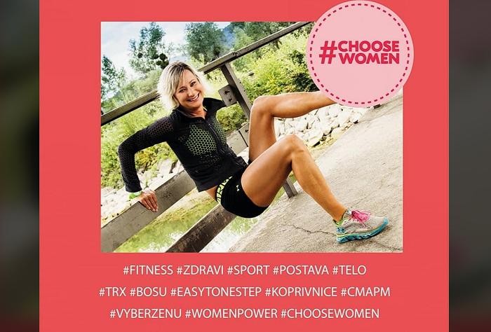 Fitness trenérka Lenka Quit zaznamenala díky kampani nárůst zájmu napříč republikou, zdroj: FB Podnikatelky.eu.