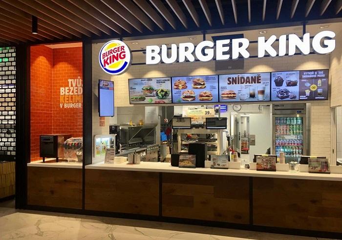 V pořadí 30. restaurace Burger Kingu se nachází v pražském obchodním centru Nový Smíchov, zdroj: AmRest.