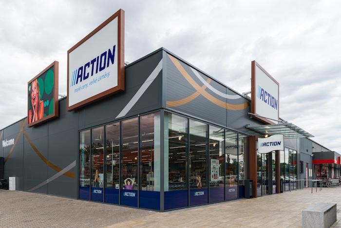 Jedna ze dvou první prodejen řetězce Action se nachází v Hradci Králové, foto: Action