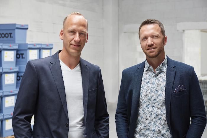 Nový komerční ředitel ZOOTu Martin Vrána (vlevo) se CEO společnosti Milanem Polákem, zdroj: Company New