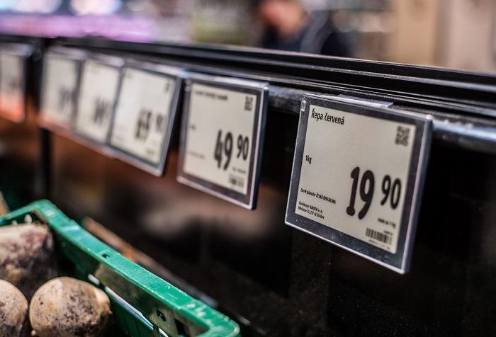 Digitální cenovky řetězec testoval od začátku loňského roku, zdroj: Albert.
