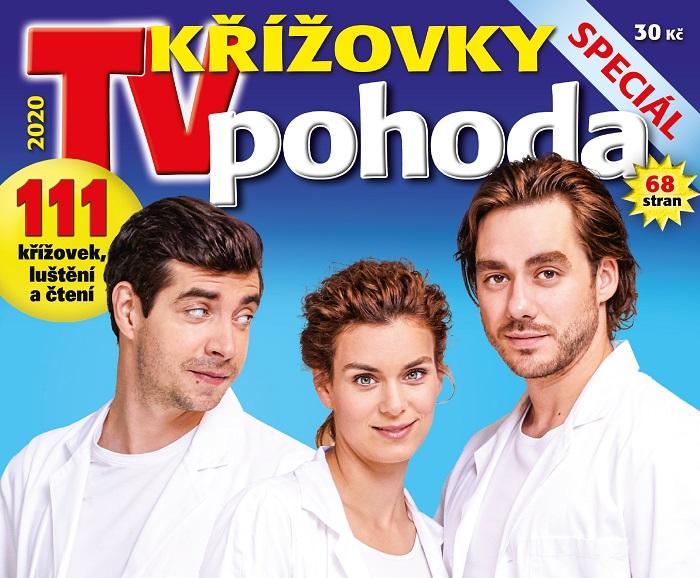 Titulní strana časopisu Křížovky TV pohoda, podzim 2020, zdroj: JIK-05