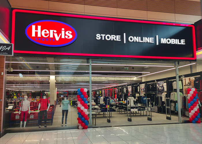 Prodejna funguje v Europarku Štěrboholy už 18 let, zdroj: Hervis.
