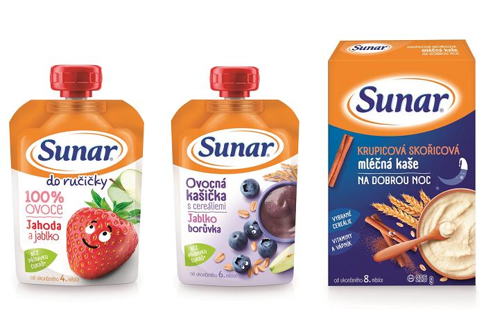 Sunárek mění obaly, nově se budou jeho produkty prodávat pod značkou Sunar, zdroj: Hero CZ & SK.
