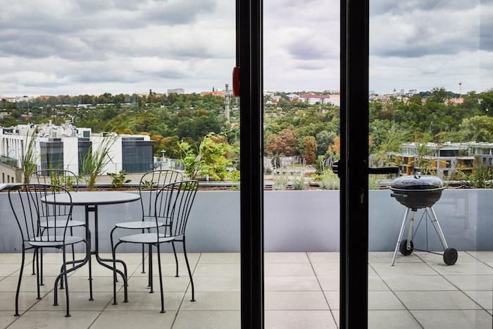 Součástí kancelářských prostor jsou i dvě terasy, zdroj: Publicis Groupe.