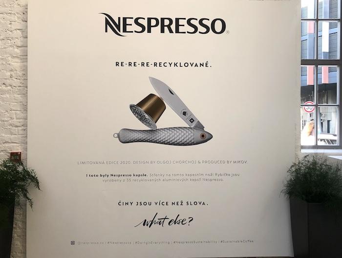 Novou edici kapesního nože Rybička podpoří komunikační kampaň, foto: MediaGuru.