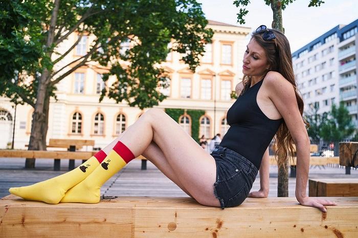 O ponožky V páru měli zákazníci zájem i v době koronakrize, kdy měli čas si nabídku prohlédnout online, zdroj: V páru