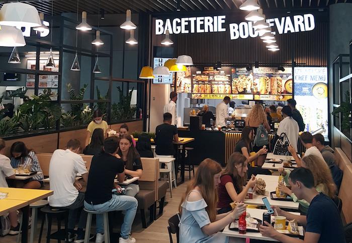 Nová pobočka Bageterie Boulevard v OC Nový Smíchov, zdroj: Bageterie Boulevard