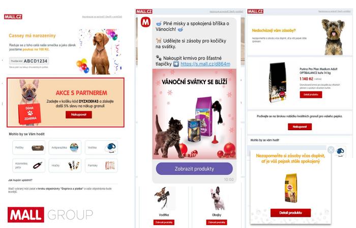 Mall.cz nabízí členům Klubu pro mažlíčky různé výhody, od založení v únoru se v něm registrovalo 30 tisíc zákazníků, zdroj: Mall.cz
