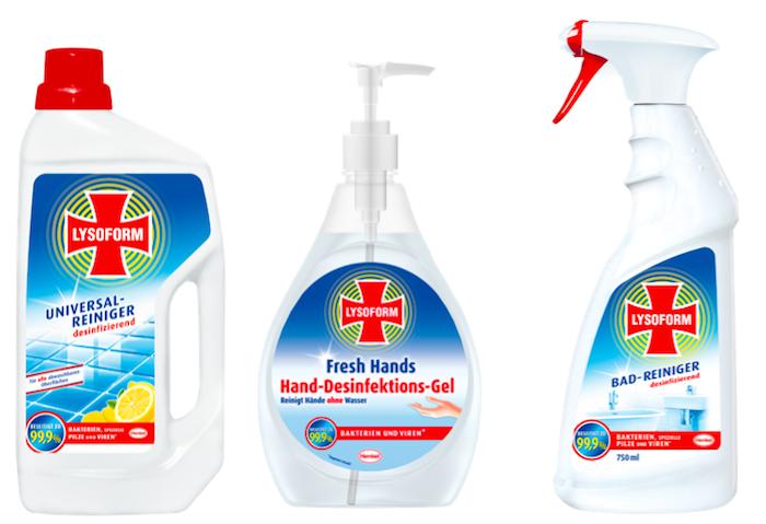 Rakouská značka Lysoform přichází na český trh, zdroj: Henkel.