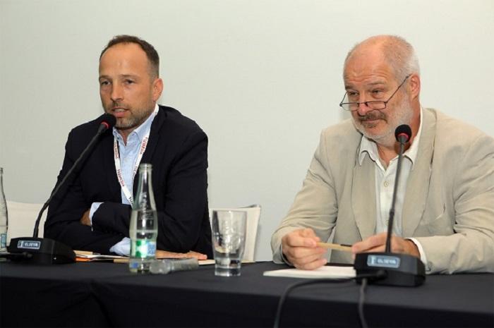 Jan Ksandr a Martin Nováček na konferenci Flema 2017, foto: Flemedia