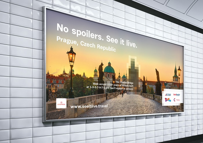 Vytvořili např. reklamní kampaň, lákající v USA turisty do Prahy, která čítala 1000  reklam  v newyorském metru a na 80 plochách ve vestibulu zastávky metra v centru Manhattanu, zdroj: Loosers
