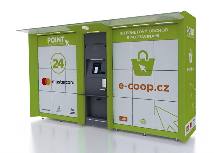 Nejprve u prodejen a pak třeba i u obecních úřadů bude COOP instalovat výdejní boxy, zdroj: COOP