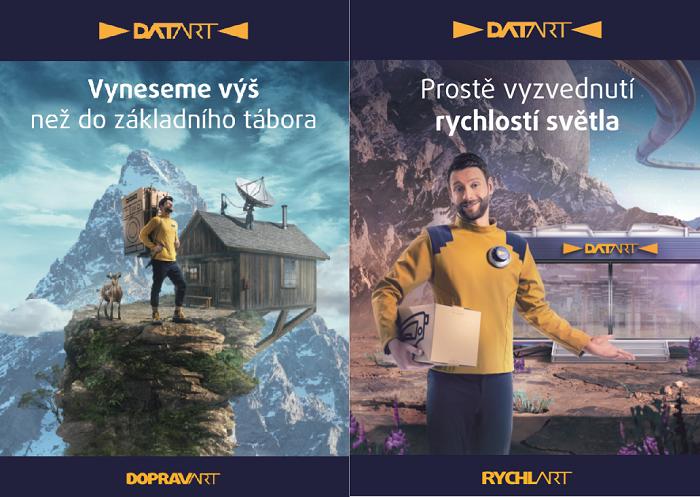 V kampani se objevuje herec Jiří Böhm, zdroj: Datart