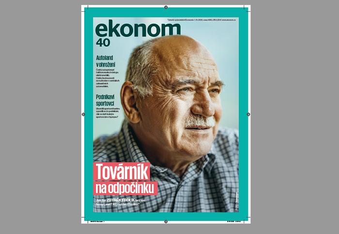 Nová obálka týdeníku Ekonom, říjen 2020, zdroj: Economia
