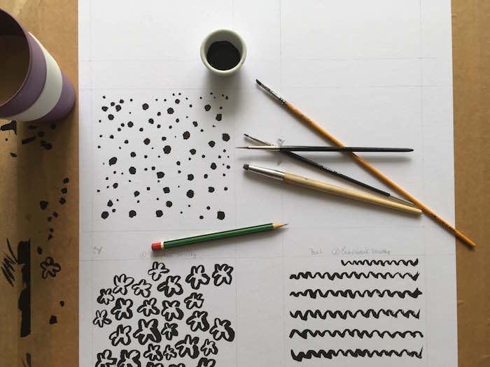 Proces vzniku nových obalů od výtvarnice Daniely Horáčkové, foto: Butterflies&Hurricanes