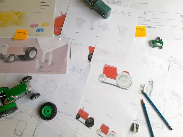 Tvorba nového prototypu traktůrku pro značku Kovap, zdroj: Kovap