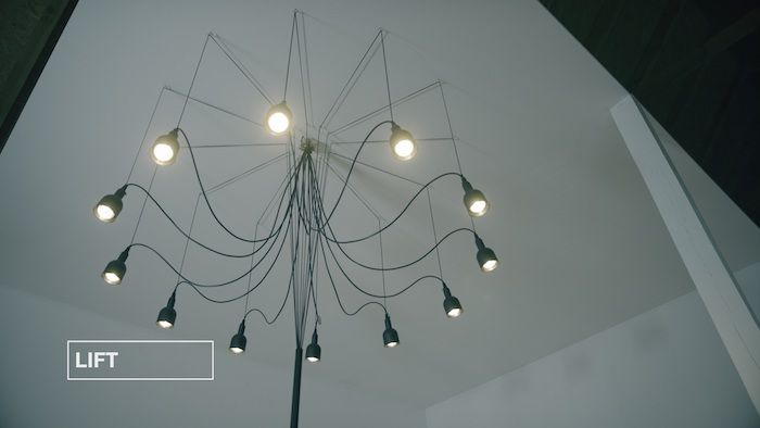 Lampu Lift si mohou zájemci vyrobit i doma, zdroj: Hornbach.