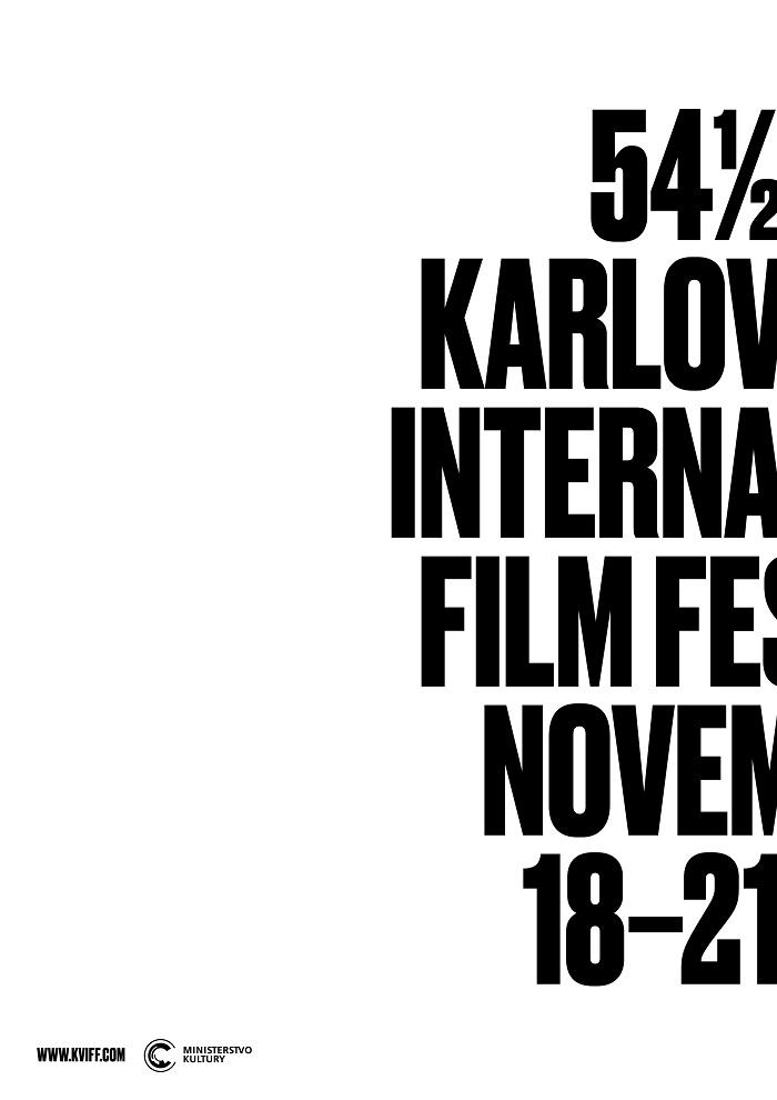 Plakát festivalu 54 ½ MFF Karlovy Vary, zdroj: MFF