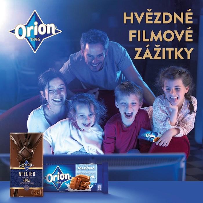 Klíčový vizuál ke kampani Orion, zdroj: Nestlé