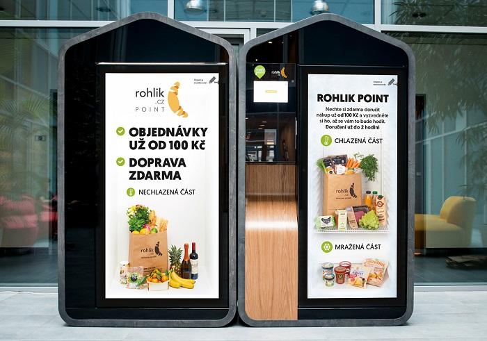 Od listopadu budou první čtyři venkovní boxy v Praze, zdroj: Rohlik.cz