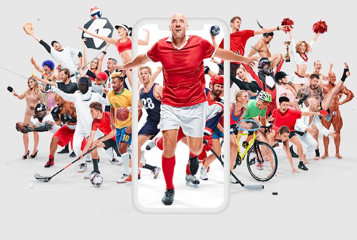 Vizuál z nové reklamní kampaně na službu FlashSport, zdroj: Livesport