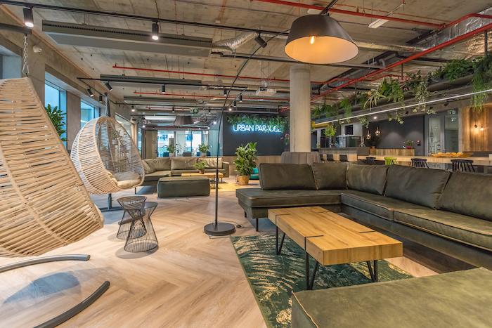 Zaměstnanci mohou využívat relaxační zóny, zdroj: Scott.Weber Workspace.