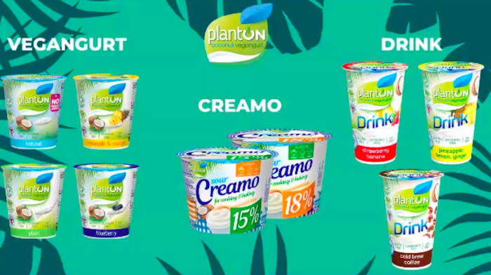 Portfolio produktů značky Planton, zdroj: Jogurty Magda