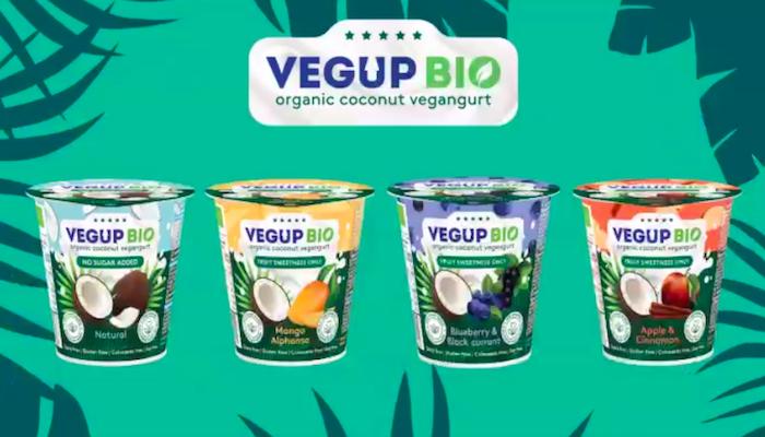 Nabídka značky Vegup Bio, zdroj: Jogurty Magda