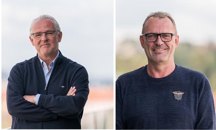 Vlevo: Didier Stoessel, vpravo: Luboš Jetmar, zdroj: CME