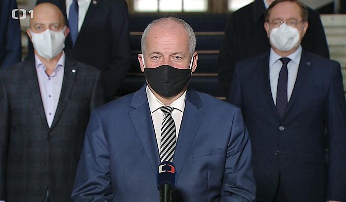 Repro ČT, projev Romana Prymuly v úterý 13. října 2020