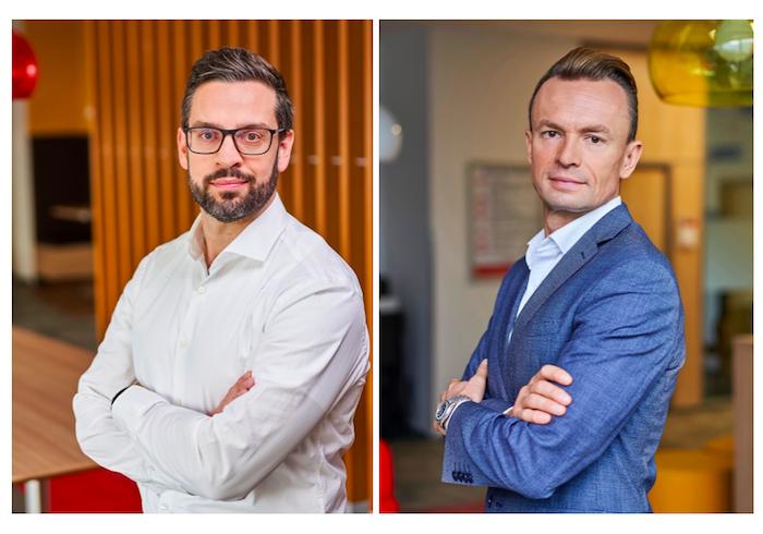 Vít Vojtěch, nový ředitel strategického marketingu, & Petr Chmelař, vedoucí nákupu, zdroj: Penny