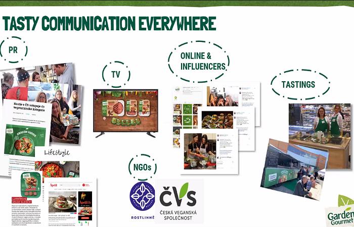 Televize a online média, společně s PR články a ochutnávkami hráli roli při vstupu značky na trh, zdroj: Nestlé