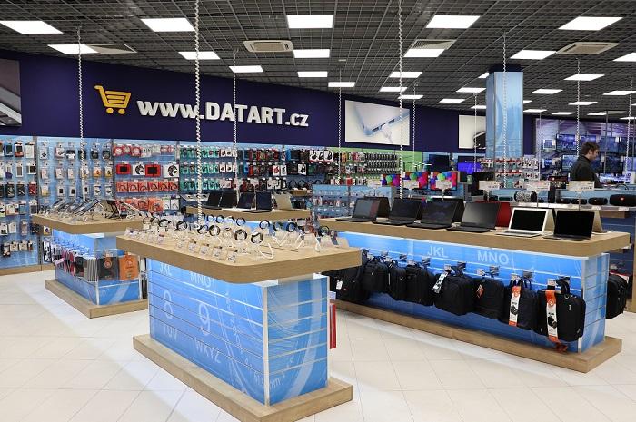 Datart provozuje v ČR celkem 105 prodejen, do konce roku otevře ještě další dvě, zdroj: Datart