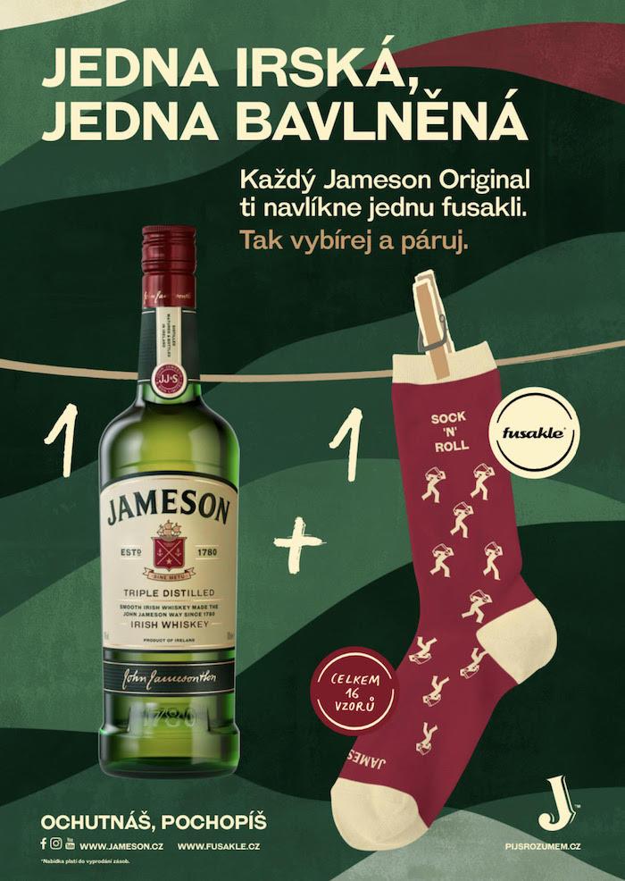 Klíčový vizuál k aktivaci irské whiskey Jameson, zdroj: JBPR