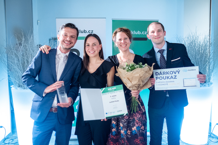 Vítězný PR tým loňského ocenění Mluvčí roku 2019 – Letiště Praha, zdroj: PR Klub