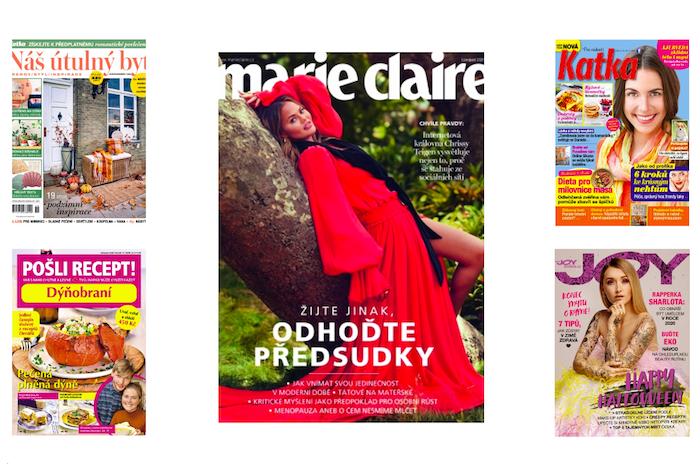 Burda upravuje portfolio, časopisy Marie Claire, Joy, Katka, Pošli recept a Náš útulný byt ke konci roku končí, zdroj: Burda International CZ.