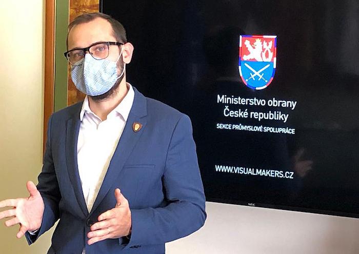 Tváří nové kampaně Ministerstva obrany se stal její náměstek Tomáš Kopečný, zdroj: Ministerstvo obrany.