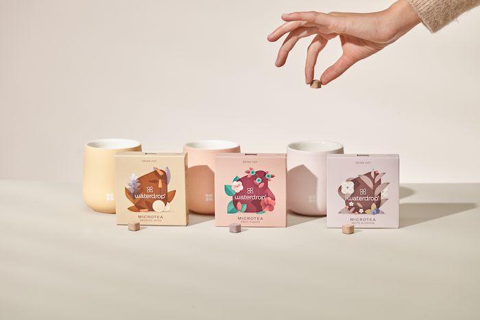 Waterdrop na trh přináší inovaci v podobě čajových kapslí, zdroj: Waterdrop