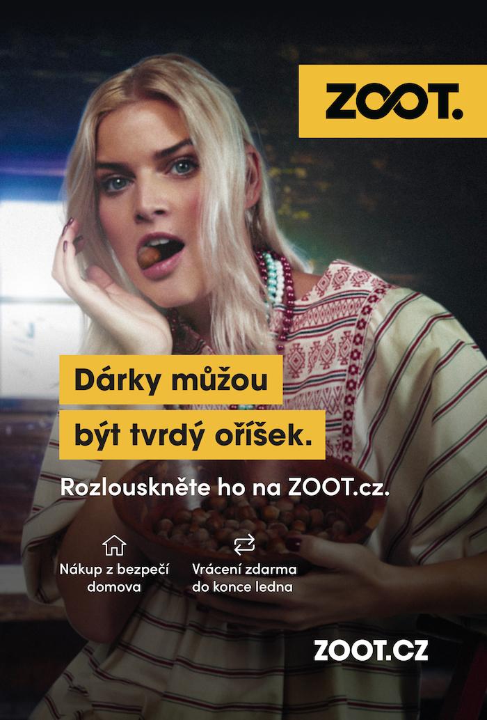 Ukázka z vánoční kampaně ZOOTu, zdroj: ZOOT.
