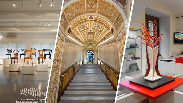 Při budování své značky se Uměleckoprůmyslové museum zaměřuje i na kvalitu pobytu v interiéru, zdroj: UPM.