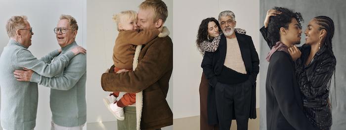 Portréty objetí od fotografky Sarah Blais, zdroj: Zalando