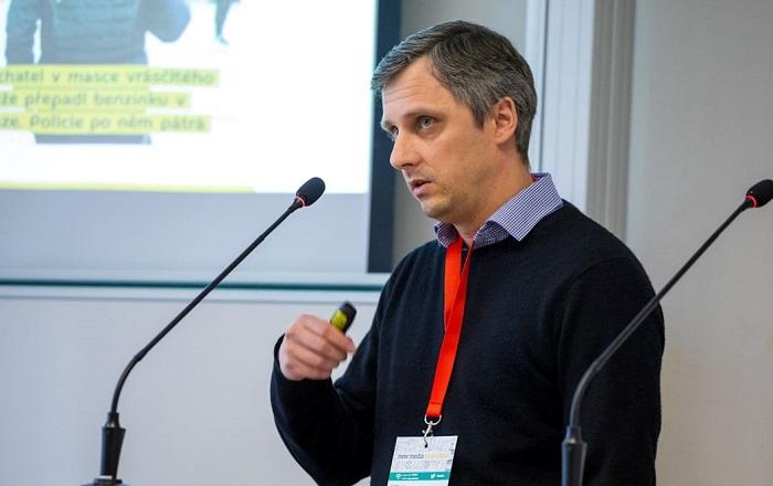 Václav Cvrček na konferenci New Media Inspiration 2020, zdroj: Internet Info