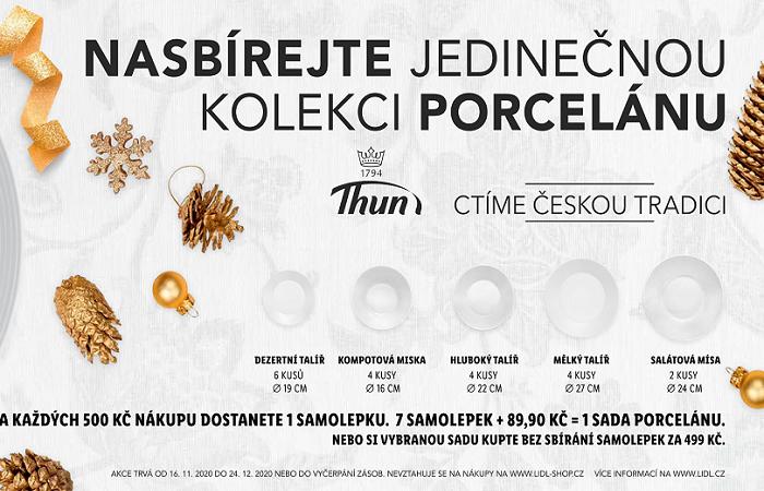 Zároveň začíná věrnostní kampaň s porcelánem Thun, zdroj: Lidl